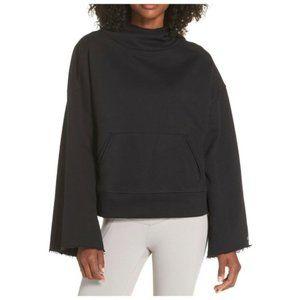 Alo Yoga Low Key Wide Sleeve Hooded Sweatshirt S